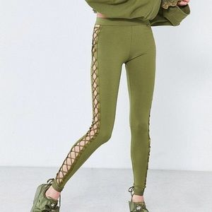 Puma Fenty by Rihanna Satin Lace-Up Legging